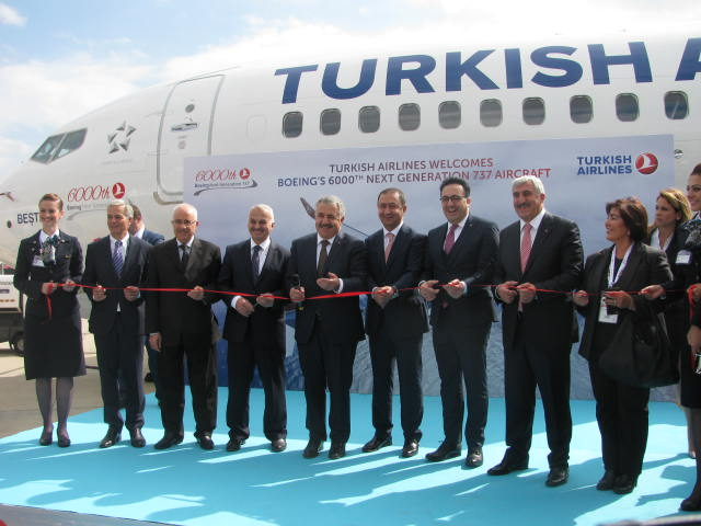 THY 100. Boeing 737NG teslim töreni gerçekleştirildi