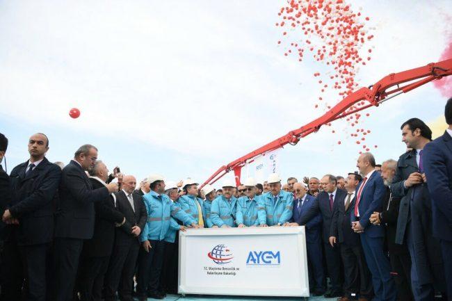 Cumhurbaşkanı Erdoğan, Rize-Artvin Havalimanı'nın temelini attı