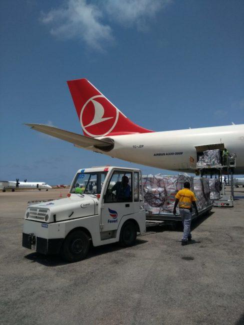 THY Somali uçuşu