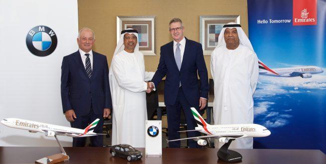 Emirates-BMW işbirliği