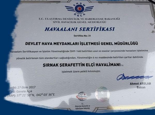 """DHMİ'nin işlettiği 49 havalimanı """"Havaalanı Sertifikası"""" almaya hak kazandı"""