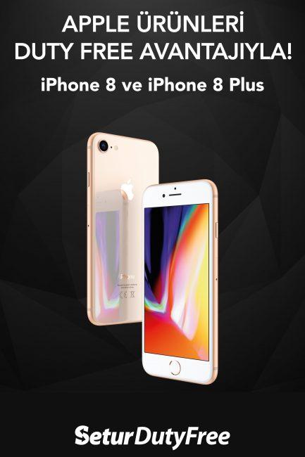 Iphone 8 ve IPhone 8 Plus, Setur'da