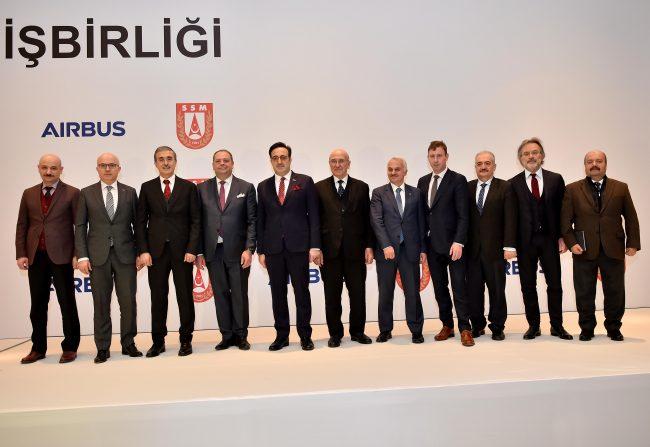 Airbus, Türk ortakları ile mütabakat zaptı imzaladı