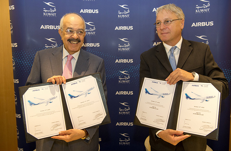 Kuveyt Havayolları 8 adet A330-800 satın alıyor