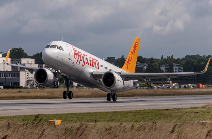 Pegasus Havayolları, Antalya-Almatı seferlerine başladı