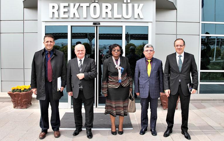 THK'nu Tanzanya'nın Ankara Büyükelçisi ziyaret etti