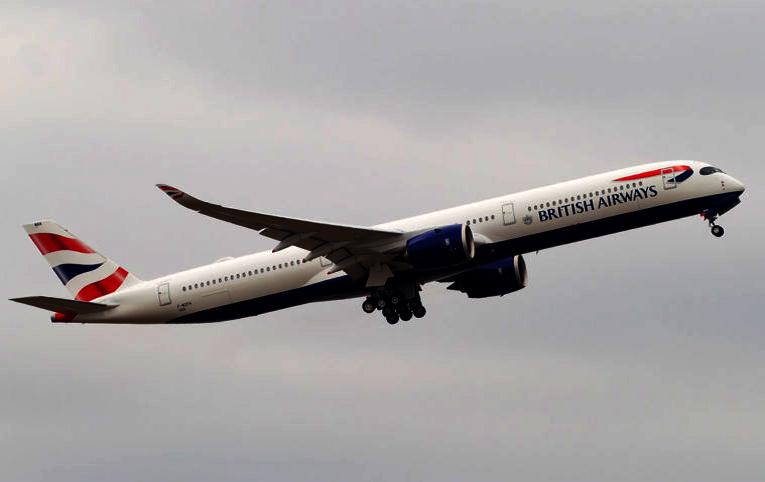 BA'nin A350-1000 uçağı Ben Gurion'dan Heathrow'a döndü