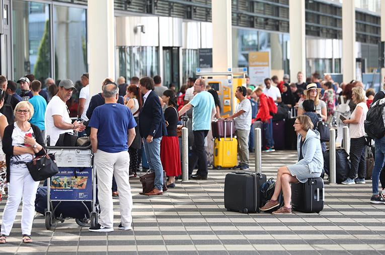 Münih Havaalanı'nda alarm