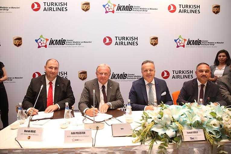 İKMİB, UPS ve THY Havacılık Akademisi protokol imzaladı