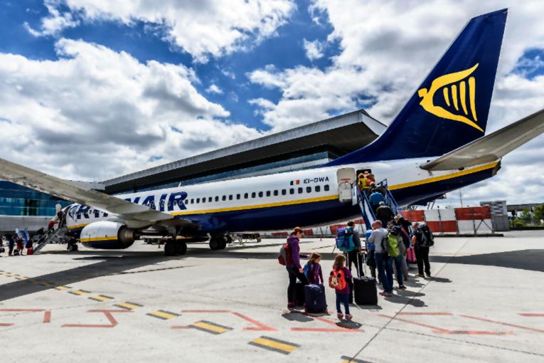 Ryanair'de, B737 MAX krizine rağmen yolcu sayısı artıyor