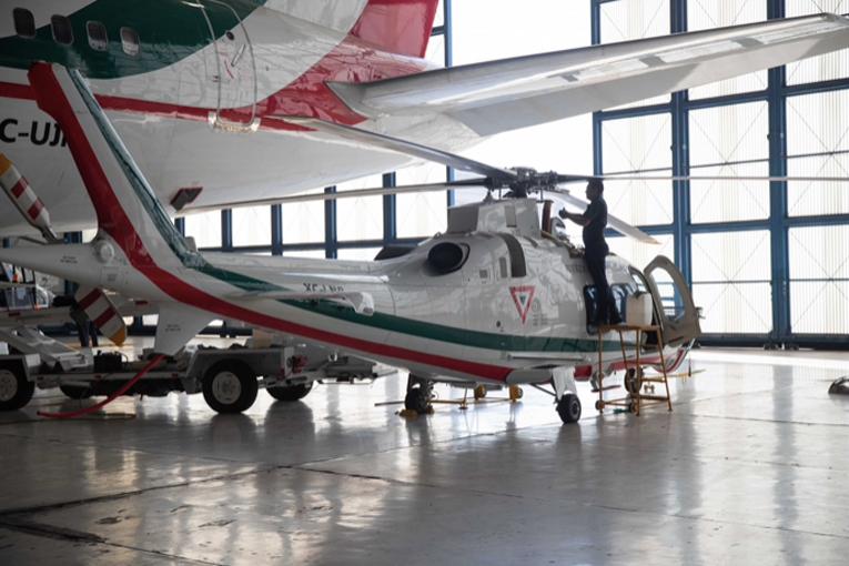 Meksika eski devletlerin jet ve  helikopterini satıyor
