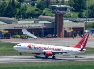 Corendon Airlines Zonguldak Havalimanına ilk yolcularını indirdi