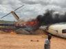 BM kargo uçağı Somali'de kaza yaptı