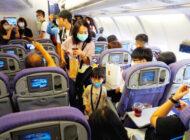 Songshan Havalimanı'nda sıra dışı uçuş yapıldı