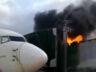 Brezilya'da körük yandı, uçuşlara ara verildi