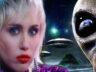 """Ünlü şarkıcı Miley Cyrus, """"UFO'lar beni kovaladı"""""""