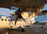 Kolombiya'da ATR-42 körüğe çarptı