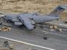 ABD Hava Kuvvetleri'nin C-17'si burun üstü indi