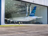 Jatblue'nun ilk A220'si hangardan çıktı