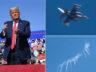 Trump'ın Arizona mitinginde, F-16'lar havalandı