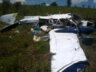 Brezilaya Sao Paulo'da Beechcraft 95-B55 düştü