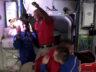 Crew-1'in astronotları istasyona kenetlendi