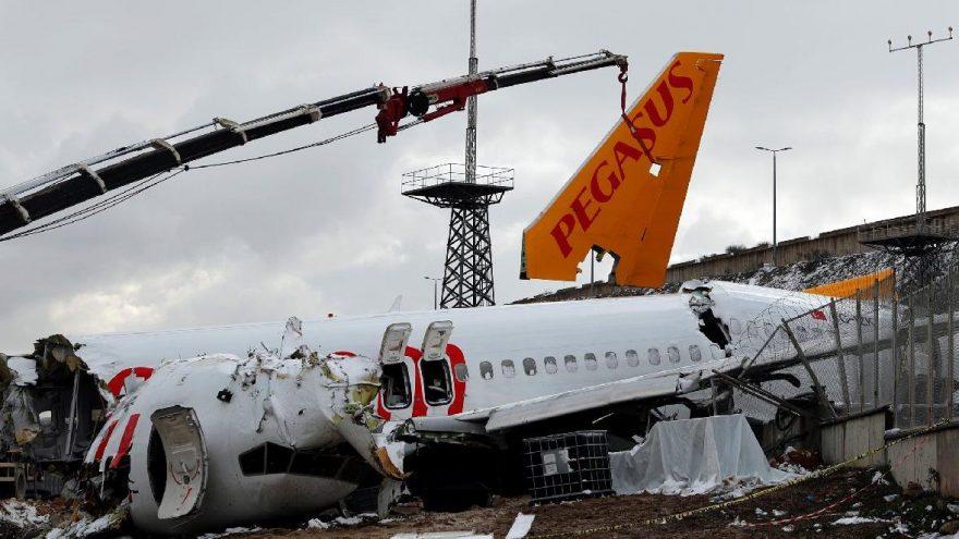 İSG'deki Pegasus uçak kazasının bilirkişi raporu tamamlandı