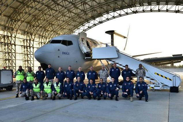 THK uçakları Doğu Akdeniz'de görevde