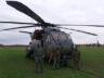 Alman ordusunun CH-53 tipi helikopteri acil indi
