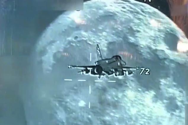 MSB, F-16'nın gece uçuş görüntülerini yayınladı