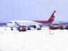 Madrid Havalimanı yoğun kardan yine kapandı