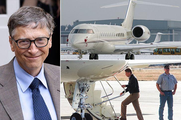 Bill Gates, salgında uçak yatırımından 930 milyon dolar kazandı