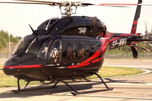 Polonya'da Bell 429 düştü