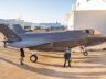 Danimarka'ya teslim edilecek İlk F-35 hangardan çıkarıldı