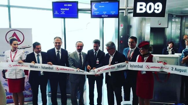 Atlasglobal'den Avrupa'da, Milano ve Cluj (Romanya) Seferleri