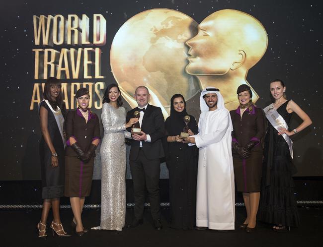 Orta Doğu'nun en iyisi Etihad Airways