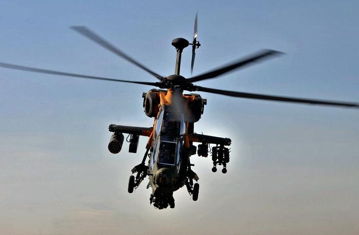 ATAK helikopteri 26 bin saati geçti