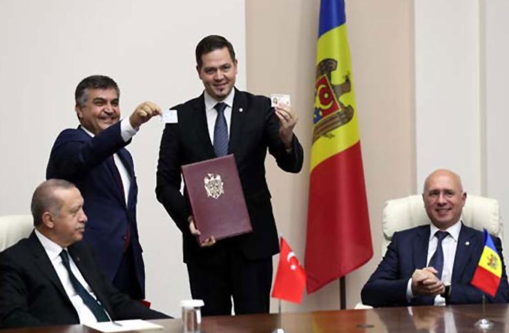 Moldova'ya artık kimlikle gidilecek