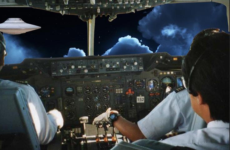İrlandalı pilotlardan UFO uyarısı