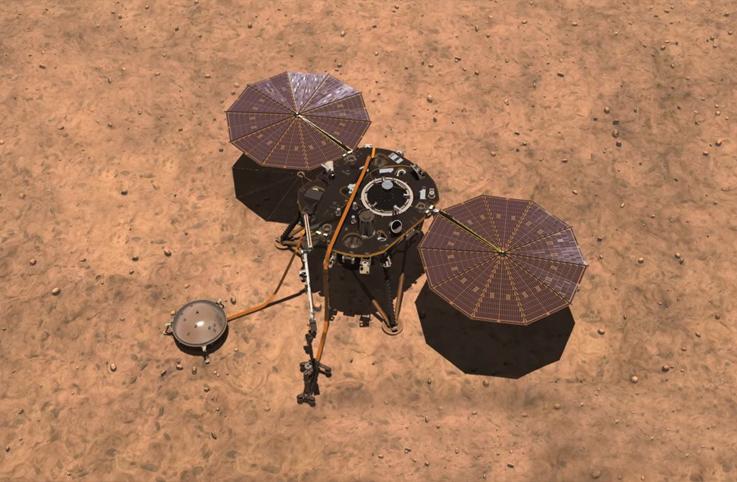 NASA'nın InSight uzay aracı ilk rekorunu kırdı