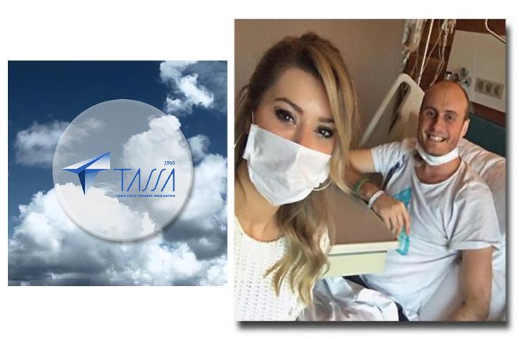 TASSA, tedavi gören kabin memurunu yalnız bırakmadı