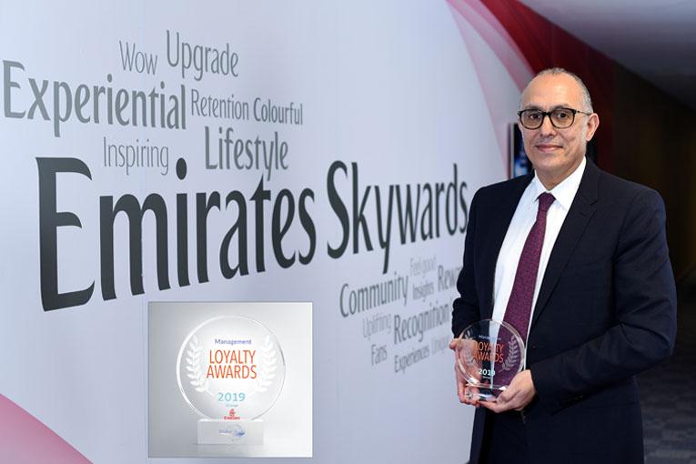 Emirates Skywards'a Mükemmellik Ödülü!