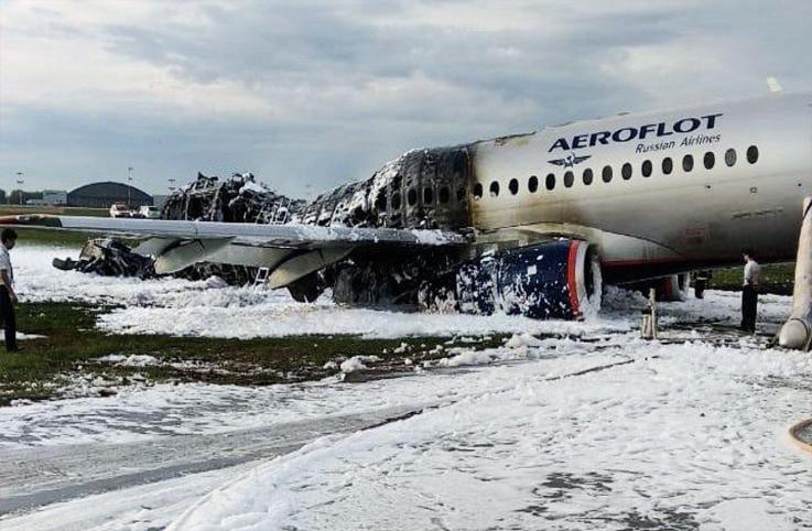 Aeroflot kazasıyla ilgili açıklama