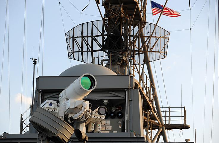 ABD'nin yeni lazer silah sistemi