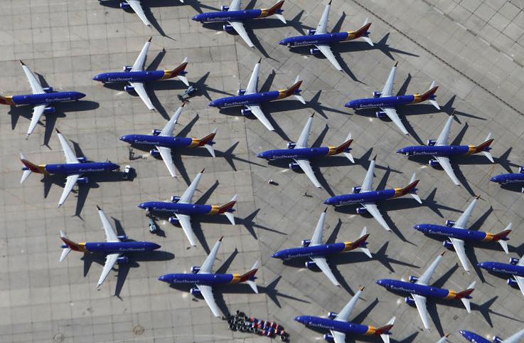 Southwest Havayolları MAX'leri 6 Haziran'a kadar kullanmayacak