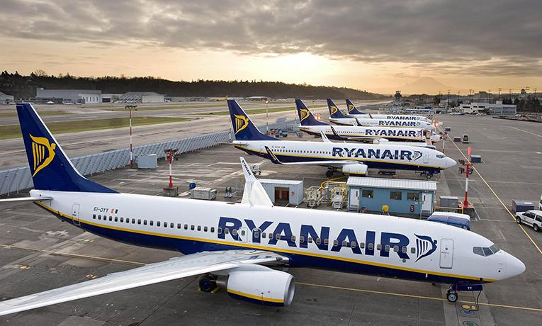 Ryanair, İrlanda operasyonlarını 13 Aralık'a kadar durdurdu