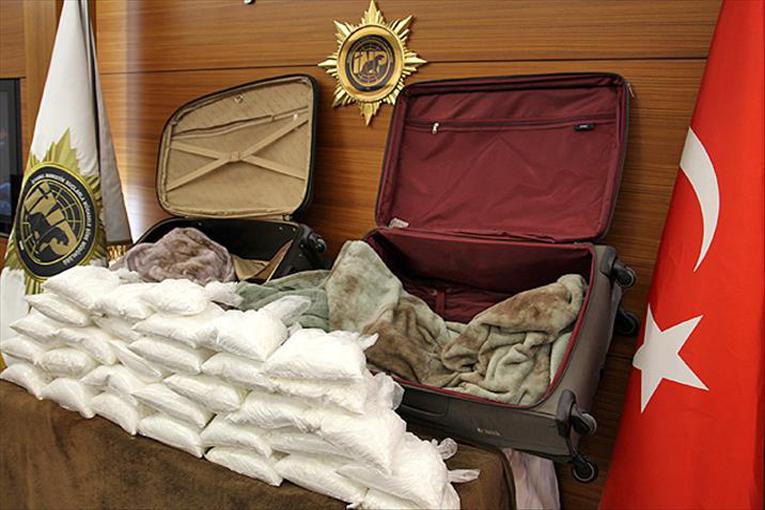 IST'de 4.5 kilogram kokain yakalandı