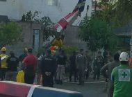 El Salvador'da askeri eğitim uçağı düştü