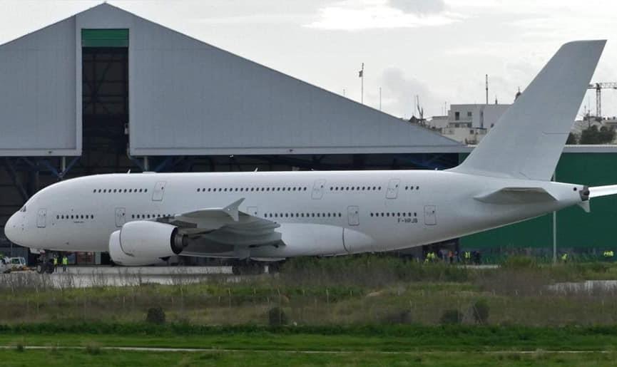 Airf France'ın a380'i son uçuşunu yaptı