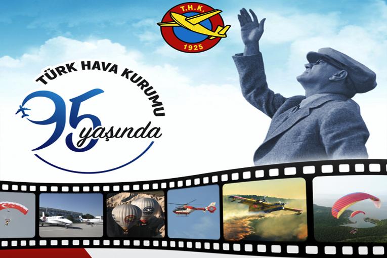 Türk Hava Kurumu 95. yaşına girdi